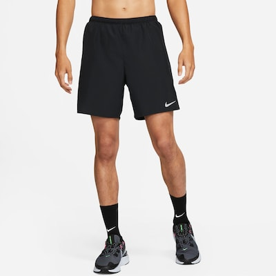 NIKE Športové nohavice 'Challenger' - čierna / biela, Produkt