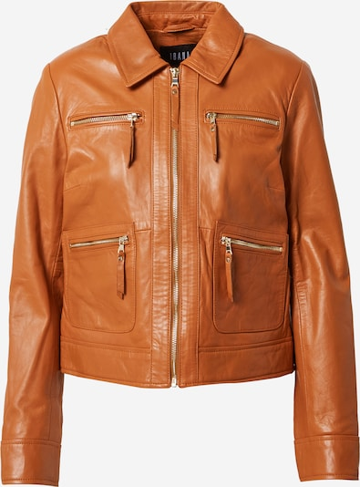 Ibana Between-season jacket 'Jennifer' in Cognac, Item view
