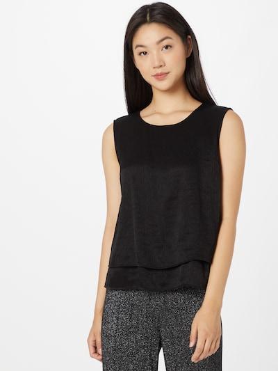 OPUS Bluse 'Fips' in schwarz, Modelansicht