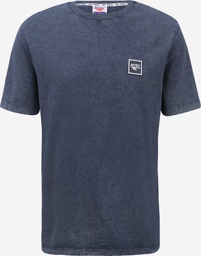 HI-TEC T-Shirt fonctionnel 'MARK' en bleu foncé / blanc, Vue avec produit