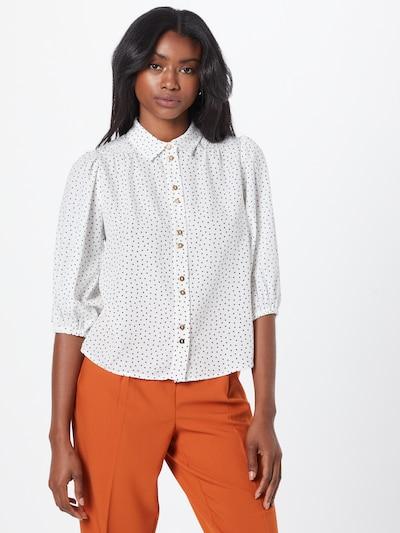 Louche Bluse 'ROSMARINE' in schwarz / weiß, Modelansicht