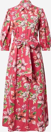 LIU JO JEANS Robe-chemise en mélange de couleurs / pitaya, Vue avec produit