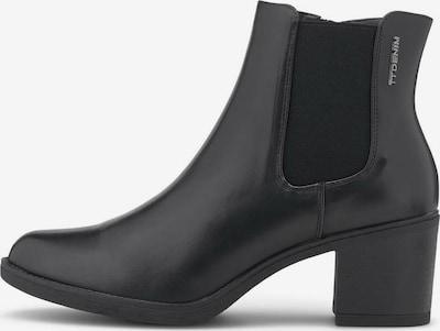 TOM TAILOR DENIM Kotníkové boty - černá, Produkt