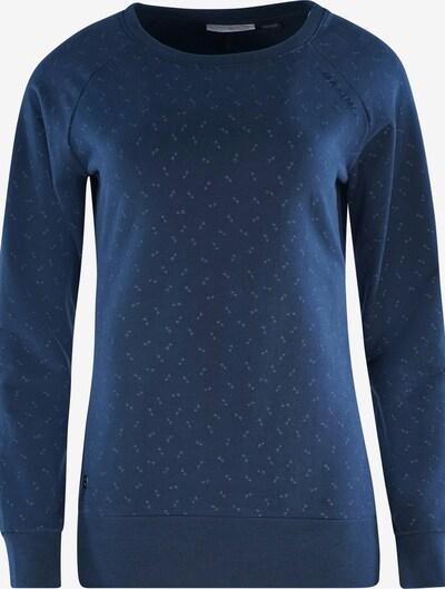 mazine Sweatshirt 'Moon' in navy / hellgrau, Produktansicht