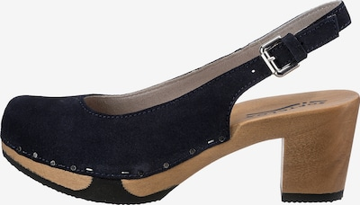 SOFTCLOX Pumps in blau, Produktansicht