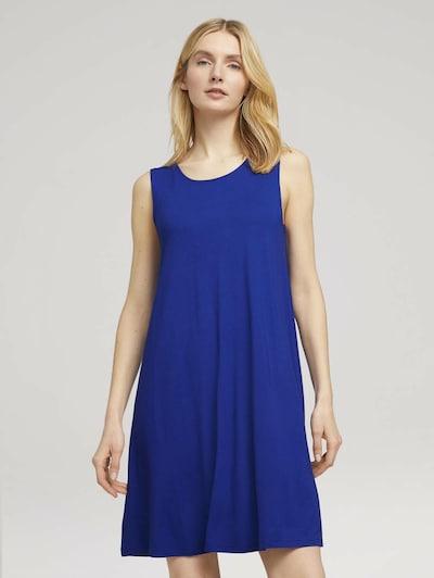 TOM TAILOR Kleid in royalblau, Modelansicht