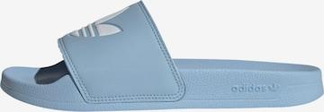 Mule 'Adilette' ADIDAS ORIGINALS en bleu
