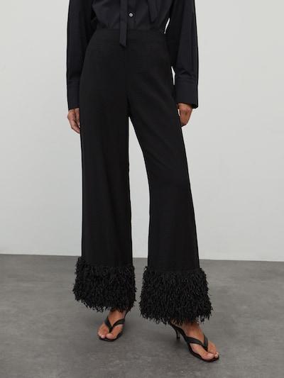EDITED Hose 'Peggy' in schwarz, Modelansicht