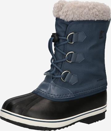 SOREL Snöboots 'YOOT PAC' i blå
