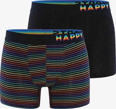 Happy Shorts Boxershorts ' Trunks #2 ' in de kleur Gemengde kleuren / Zwart, Productweergave