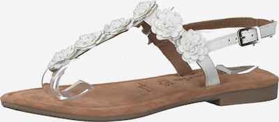 TAMARIS T-bar sandals in white, Item view
