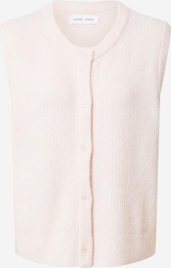 Vestă tricotată 'Nor' Samsoe Samsoe pe roz, Vizualizare produs
