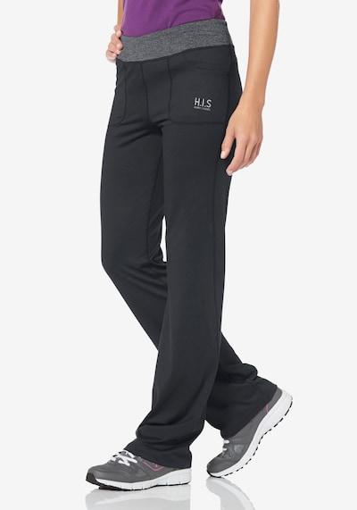 H.I.S Jazzpants in grau / schwarz, Modelansicht