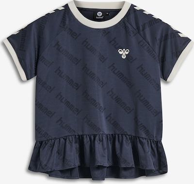 Hummel Functioneel shirt in de kleur Donkerblauw, Productweergave