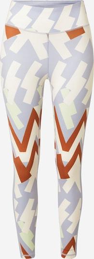 DELICATELOVE Sporthose 'NADI' in hellblau / braun / weiß, Produktansicht