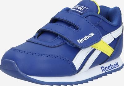 Sportbačiai iš Reebok Classic , spalva - mėlyna / geltona / balta, Prekių apžvalga