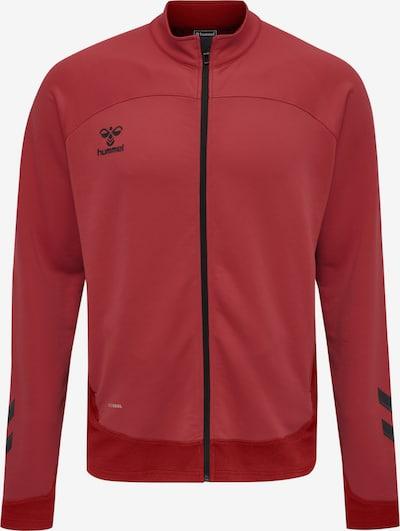 Hummel Sportsweatvest 'Lead' in de kleur Rood / Pastelrood / Zwart, Productweergave