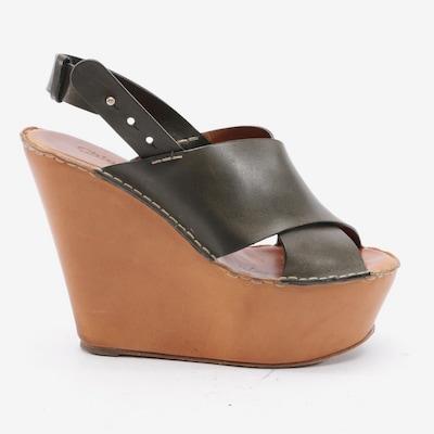 Chloé Sandaletten in 39,5 in oliv, Produktansicht