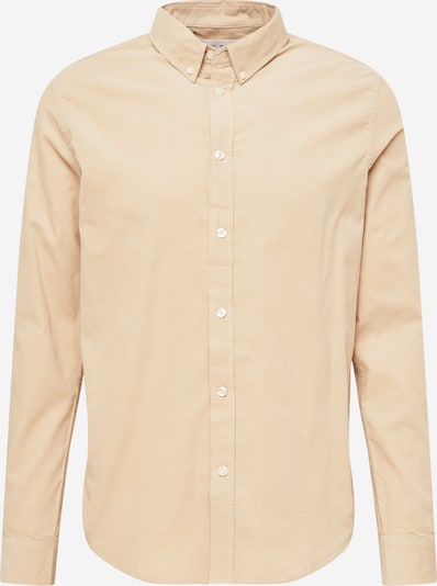 Samsoe Samsoe Overhemd 'Liam' in de kleur Beige, Productweergave