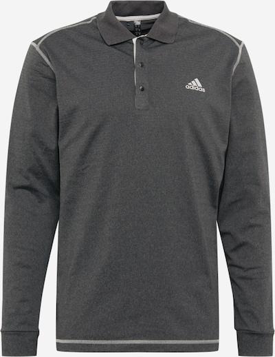 adidas Golf Tehnička sportska majica u tamo siva / bijela, Pregled proizvoda