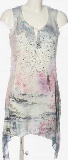 Tredy Minikleid in S in hellgrau / pink / wollweiß, Produktansicht