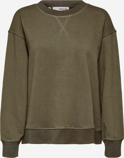 SELECTED FEMME Sweatshirt 'STASIE' in dunkelgrün, Produktansicht