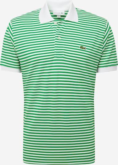 LACOSTE Тениска в тревнозелено / светлозелено / огнено червено / черно / бяло, Преглед на продукта