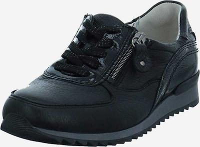 WALDLÄUFER Sportlicher Schnürschuh in schwarz, Produktansicht