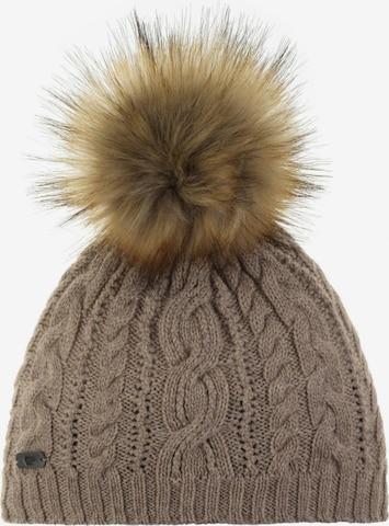 Eisbär Mütze in Braun