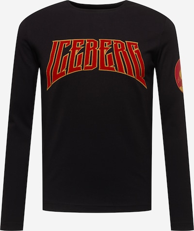 ICEBERG T-Krekls, krāsa - dzeltens / sarkans / melns, Preces skats