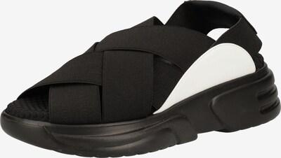 Rapisardi Sandale in schwarz, Produktansicht