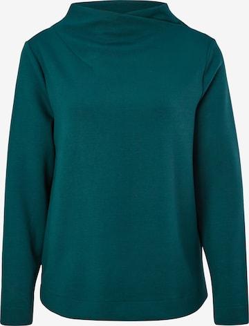 s.Oliver BLACK LABEL Sweatshirt in Grün