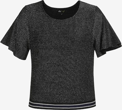 myMo at night Shirt in schwarz / silber, Produktansicht
