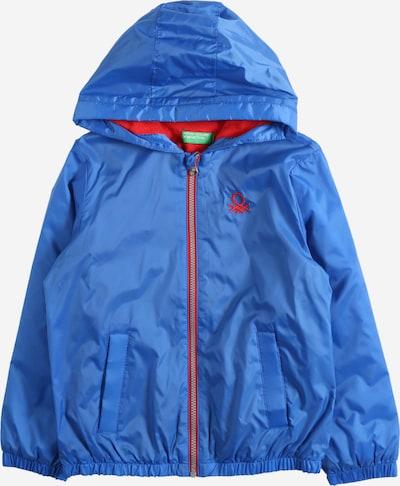 UNITED COLORS OF BENETTON Prijelazna jakna u kraljevsko plava / crvena, Pregled proizvoda