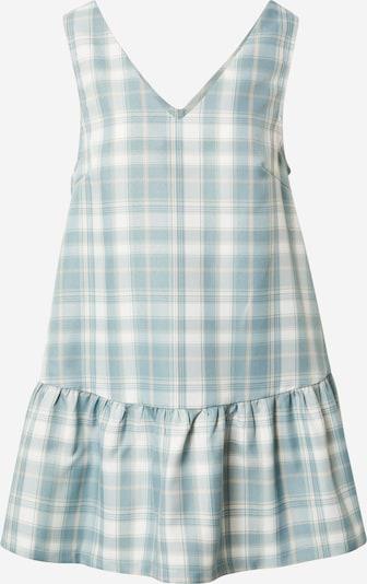 Daisy Street Klänning 'PINIFORE' i ljusblå / pastellgul / vit, Produktvy