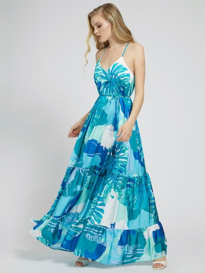 GUESS Kleid in hellblau, Modelansicht