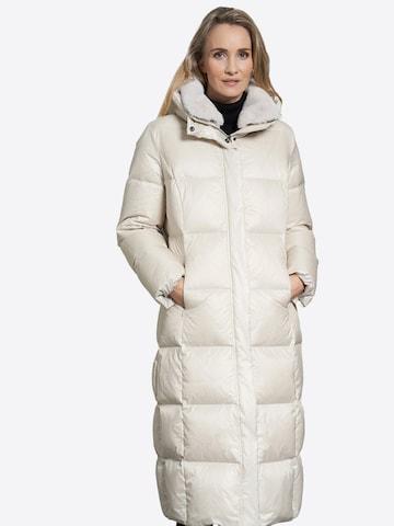 JUNGE Winter Coat 'Claire' in Beige