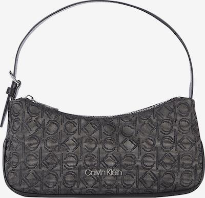 Calvin Klein Schultertasche in dunkelgrau / schwarz, Produktansicht