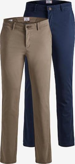 JACK & JONES Pantalon chino 'Marco' en camel / bleu marine, Vue avec produit