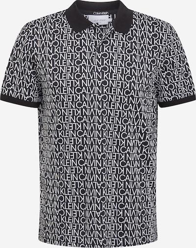 Calvin Klein T-Shirt en noir / blanc, Vue avec produit