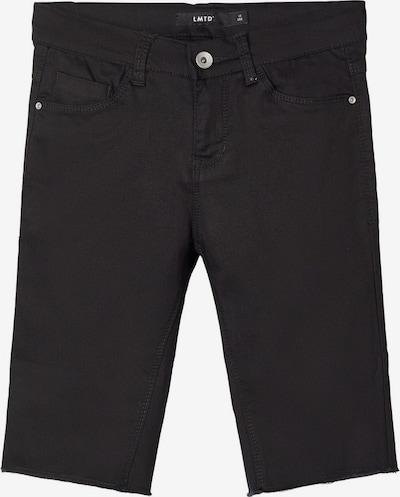 NAME IT Biker Shorts in black denim, Produktansicht