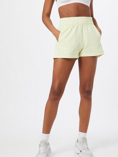 ADIDAS ORIGINALS Pantalon en jaune, Vue avec modèle
