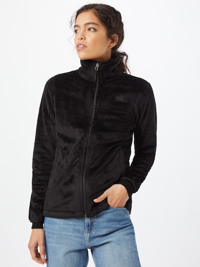 THE NORTH FACE Fleece jas 'OSITO' in de kleur Zwart: Vooraanzicht