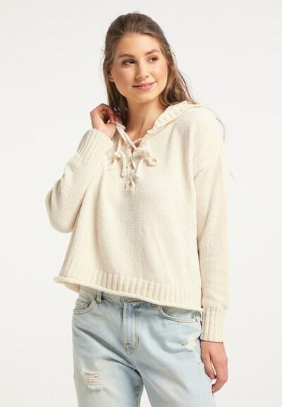 IZIA Pullover in wollweiß, Modelansicht