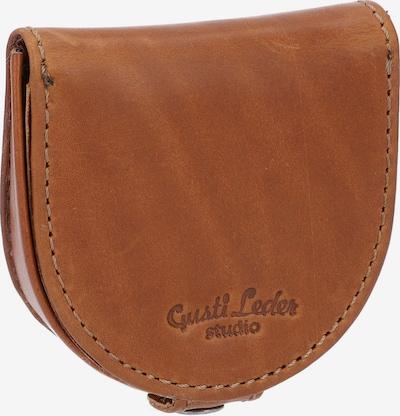 Gusti Leder Portemonnee in de kleur Bruin, Productweergave