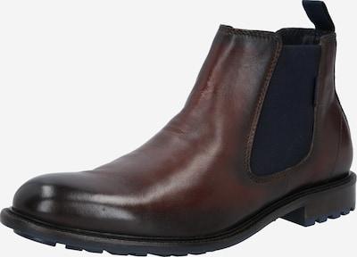 bugatti Chelsea Boots 'Bonifacio' en marron châtaigne, Vue avec produit