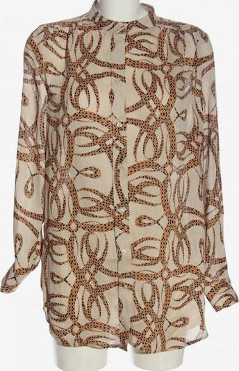 For H&M Langarmhemd in S in nude / grün / schwarz, Produktansicht