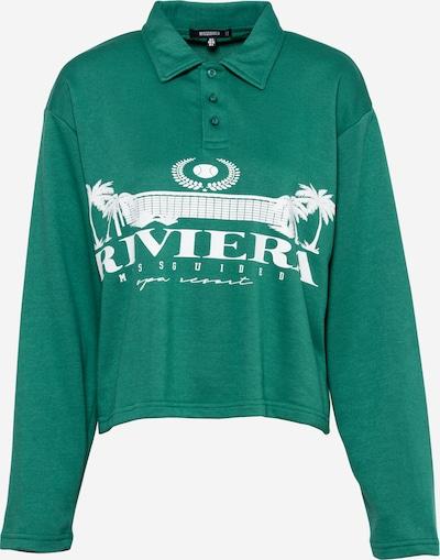 Missguided Свободна дамска риза в зелено / бяло, Преглед на продукта