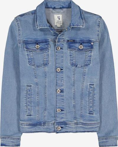 Garcia Jeans Jacke in blue denim, Produktansicht