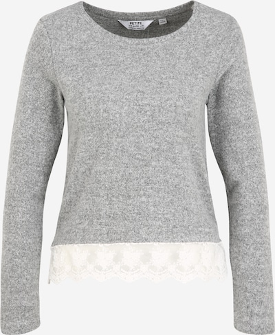 Dorothy Perkins (Petite) Shirt in de kleur Grijs gemêleerd / Wit, Productweergave